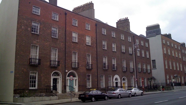 Terrace homes in Dublin