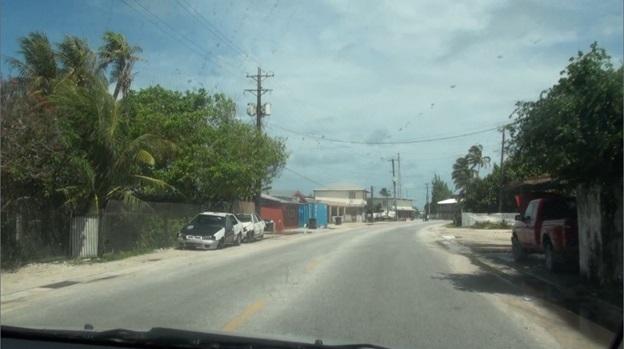 Oceanian city street