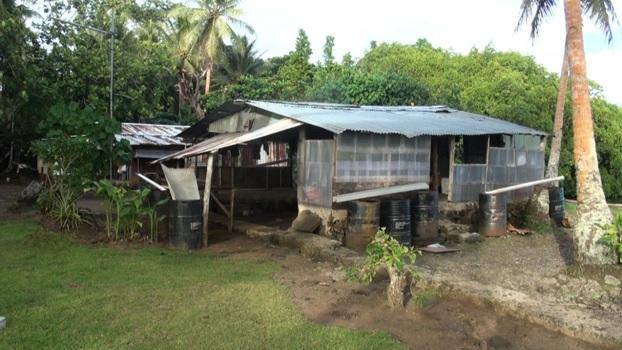 Micronesian suburban home