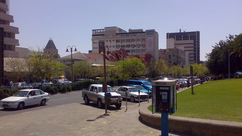 Windhoek city center