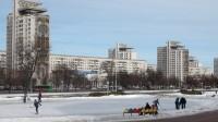 Post-Soviet city